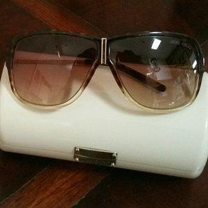 """Jimmy Choo """"Jimmy"""" Celebrity Style Sunglasses"""